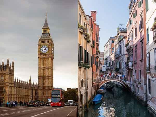 ヨーロッパ諸国の2ヶ国留学と留学後の旅行