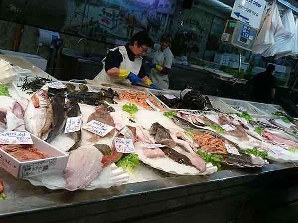 サンセバスチャン ラ・ブレチャ市場