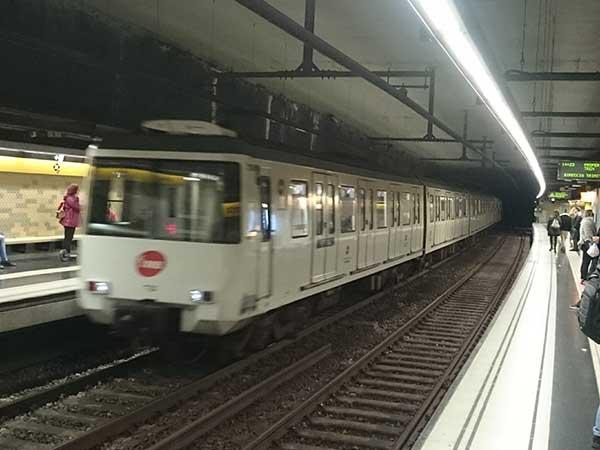 バルセロナの地下鉄